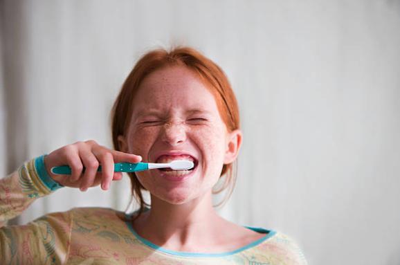 niños y dientes