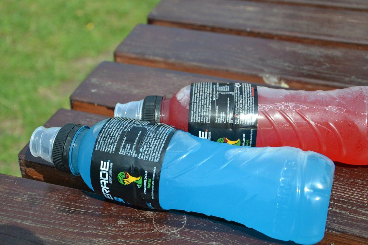 bebidas isotónicas y energéticas